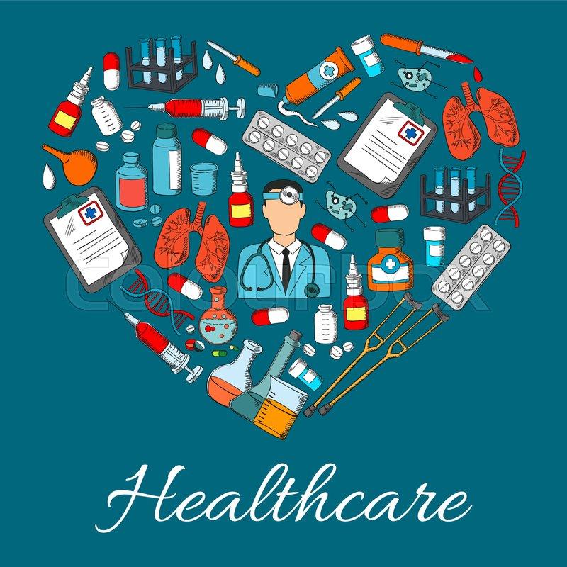 Healthcare symbol of medical vector     | Stock vector