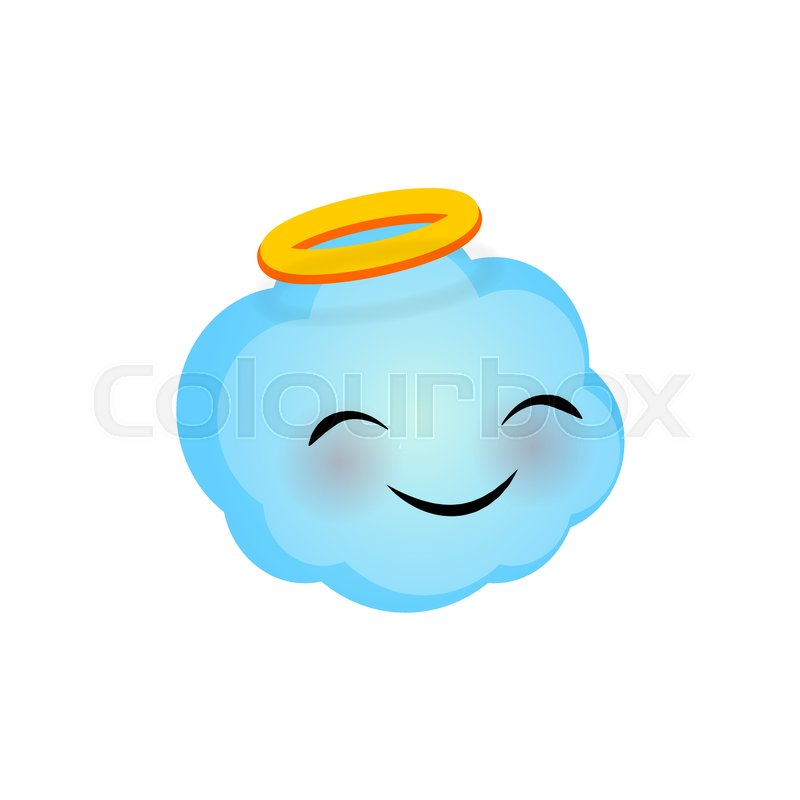 Angel emoji text