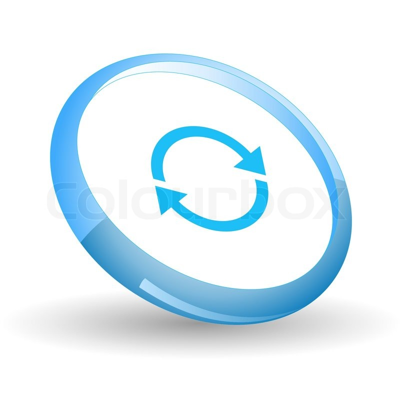 Recycle Symbol Circle Recycle Symbol Vector Icon