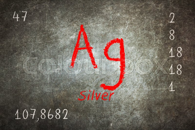 Isolated blackboard with periodic table silver chemistry stock isolated blackboard with periodic table silver chemistry stock photo urtaz Gallery