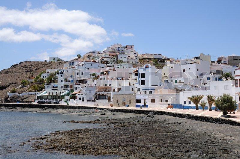 Fuerteventura Spain  City new picture : Las Playitas, Fuerteventura, Spain | Stock Photo | Colourbox
