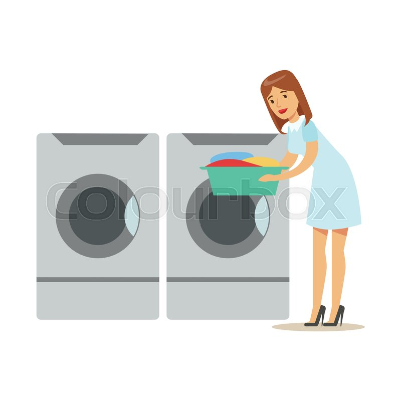 how to clean the out take of the washing machine