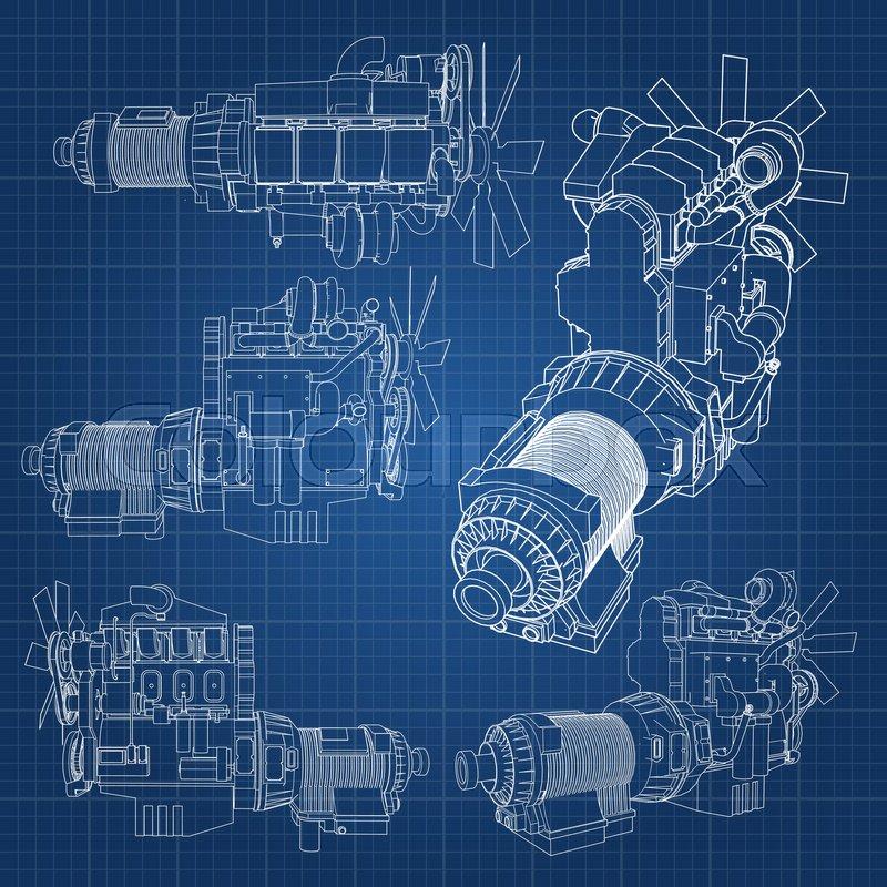 Diesel Truck Engine Diagram