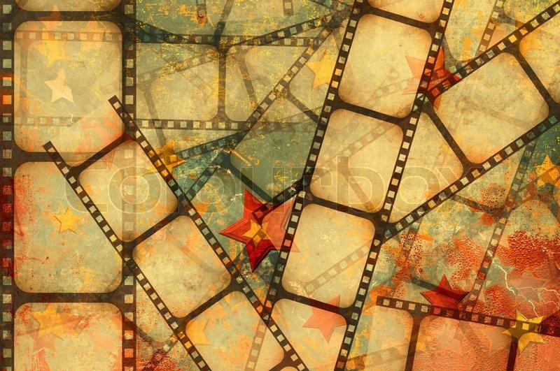 Movie Reel Frame
