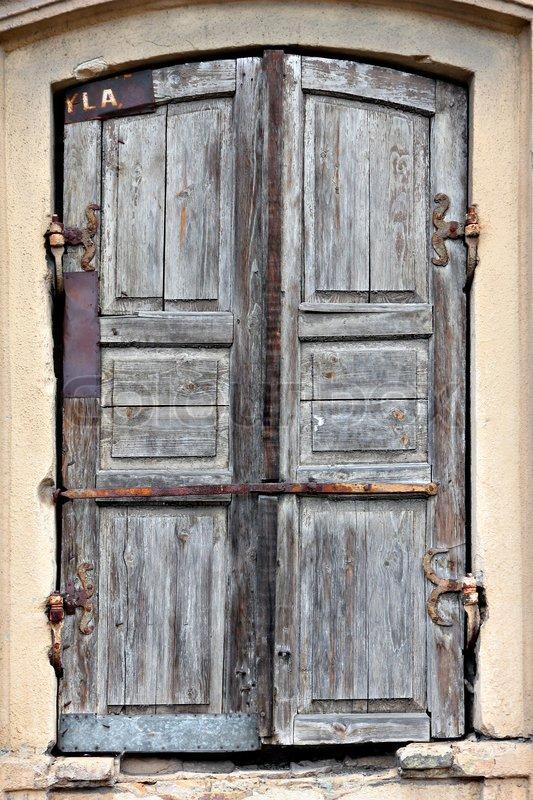Old Timeworn Doors In Vilnius Lithuania Eastern Europe