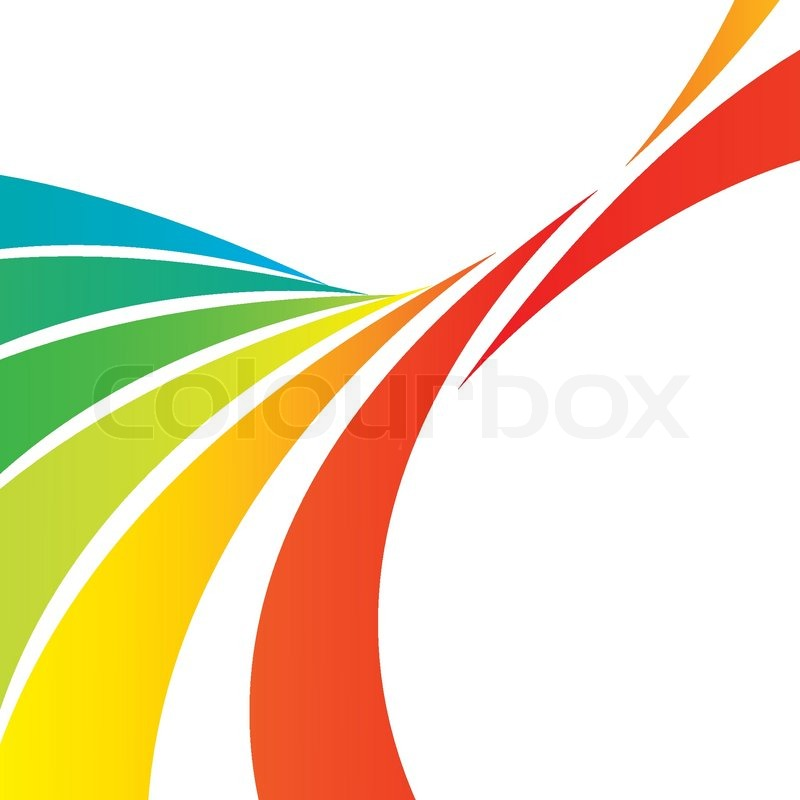 A Colorful Abstract Design Template With Plenty Of Copyspace This Vector Image Makes Great Background