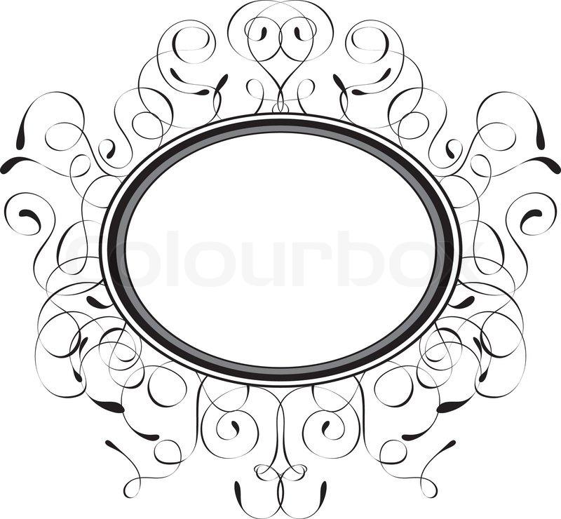 Dekorativen Rahmen , Vektor-Illustration   Vektorgrafik   Colourbox