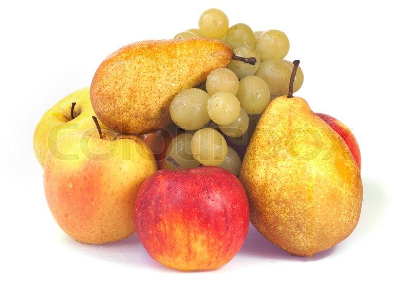 Autumn Apple And Grape Medley Recipe — Dishmaps