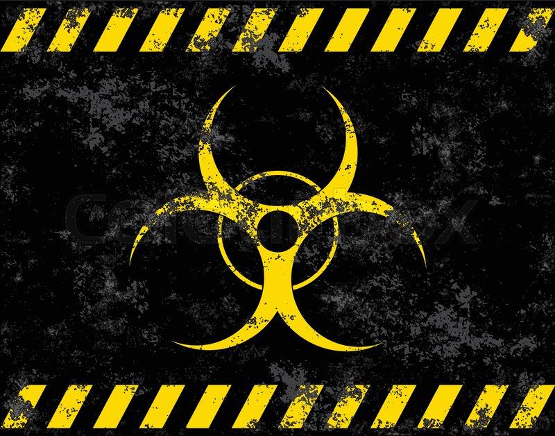 Biohazard Symbol Virus Infection Bacteria Contagion Toxic