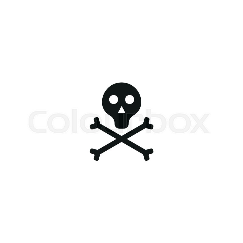 Toxic Product Symbol Isolated On White Background Vector