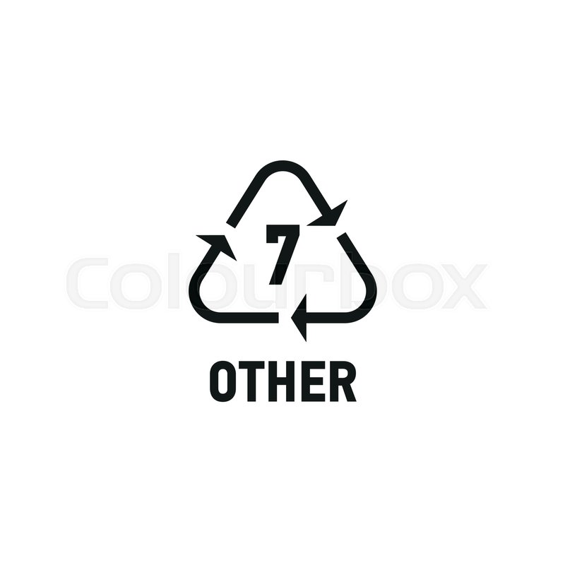 Plastic Recycle Logo 7 Awesome Graphic Library
