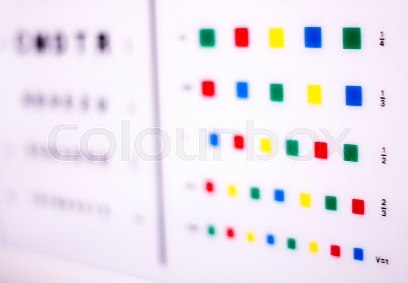 Opticians Ophthalmology And Optometry Stock Photo Colourbox