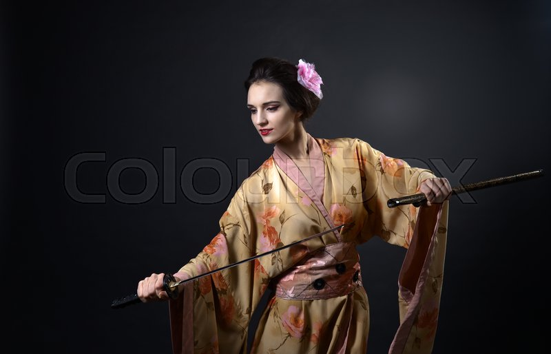Young Beautiful Woman In Traditional Stock Image