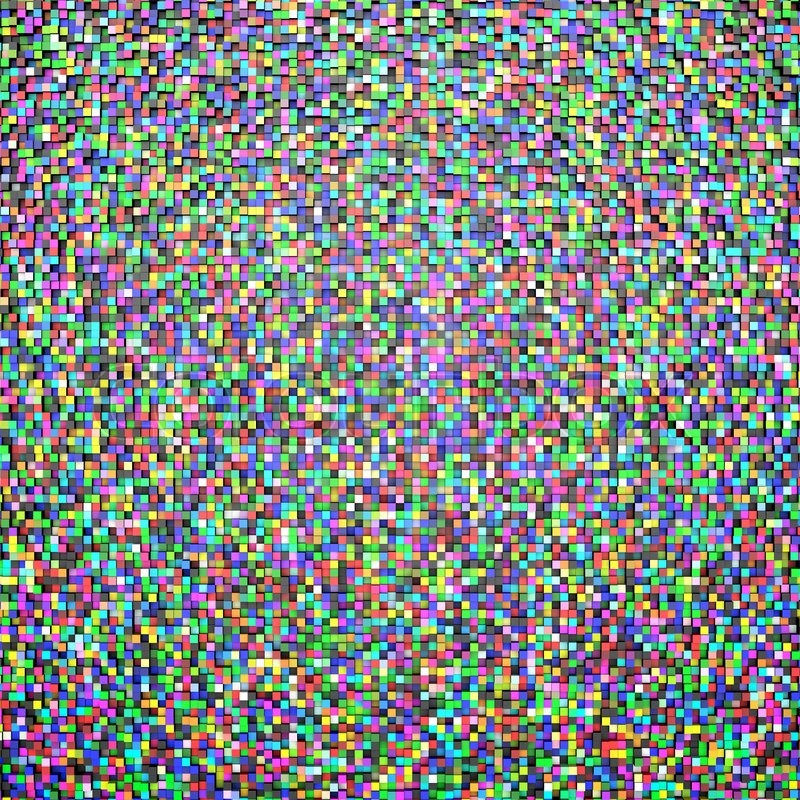 Random color mosaic tiles abstract background stock photo colourbox