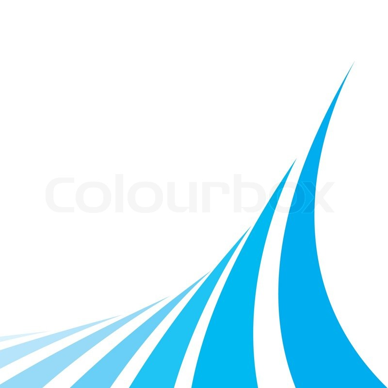 An Abstract Design Template With Stock Vector Colourbox