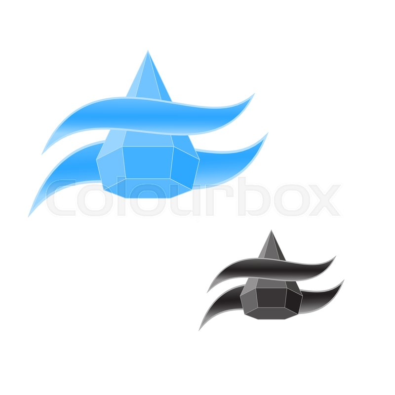 Logo Water Drop Saving Of Water Water Droplet Icon In Template