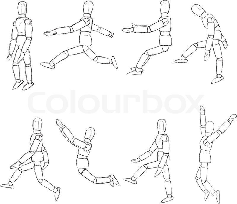 Berühmt Anatomie Des Menschlichen Körpers Skizzen Fotos - Anatomie ...