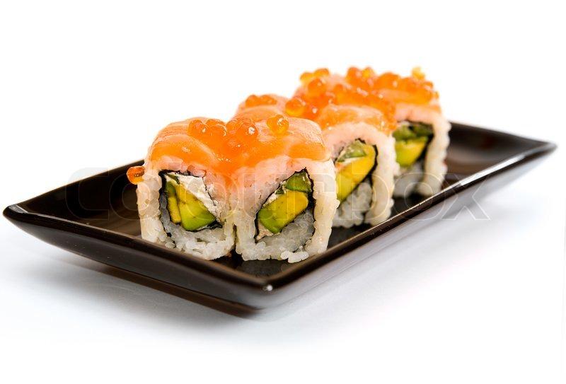 japanese sushi traditional japanese food stock photo