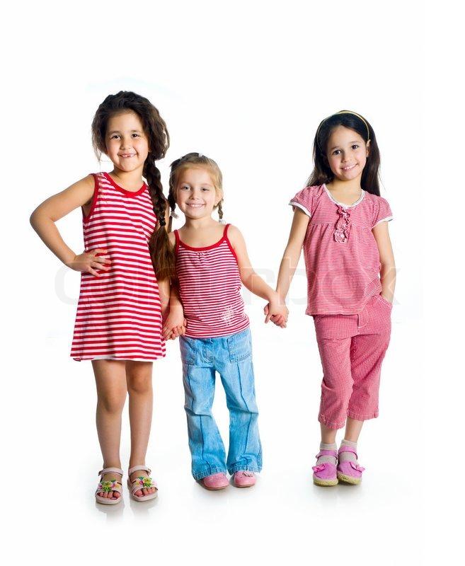 små søde piger