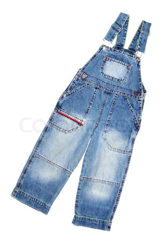 Как сшить комбинезон для ребенка из старых джинсов