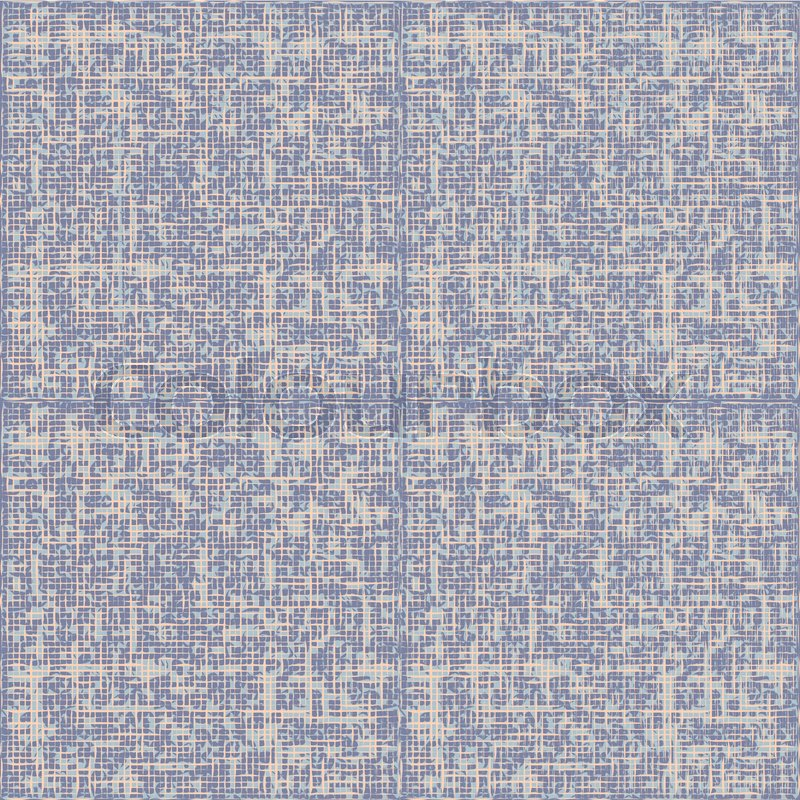 Grey Canvas Texture Seamless Pattern Vector Grunge Linen Fabric Textile