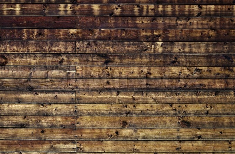 Weathered Striped Textured Old Wooden Planks Grunge