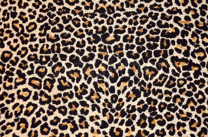 Abstract texture of leopard fur (skin), stock photo