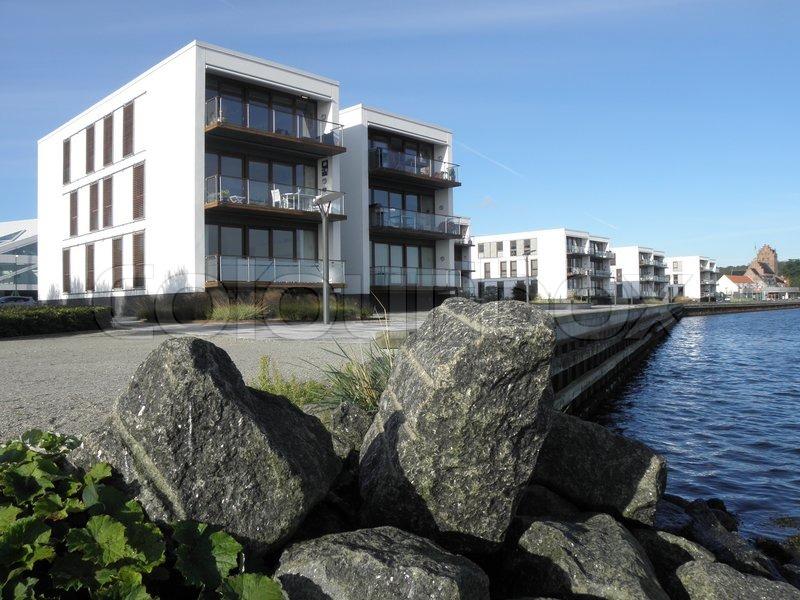 Bolig bolig med udsigt bygninger danmark dansk Fyn gade havn havneboliger havnefront ...