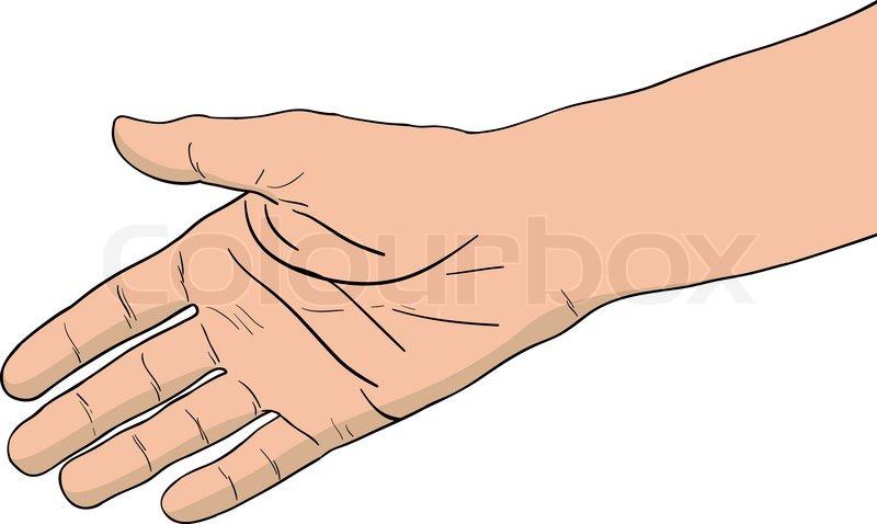 højre hånd