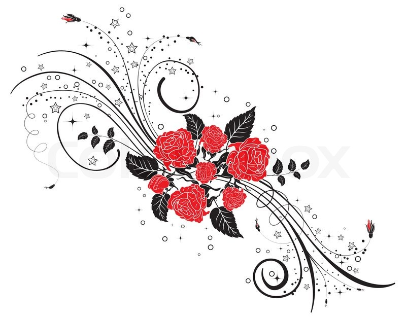 Circle Floral Design Vector Art Abstract Ornamental Border By Persian Graphics