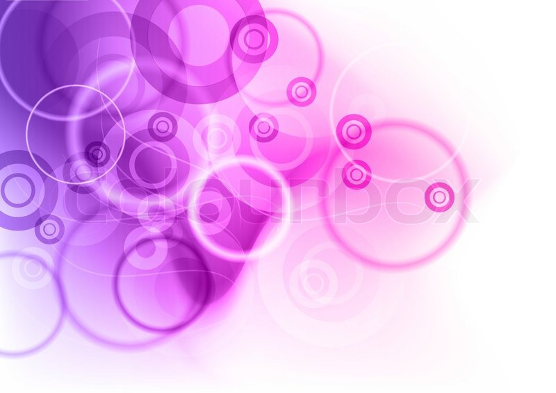 Purple Abstract Background With Stock Vector Colourbox