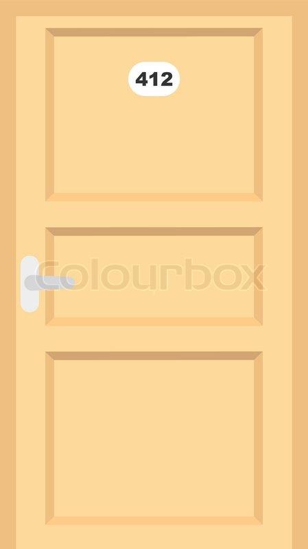 room doors vector art - photo #4