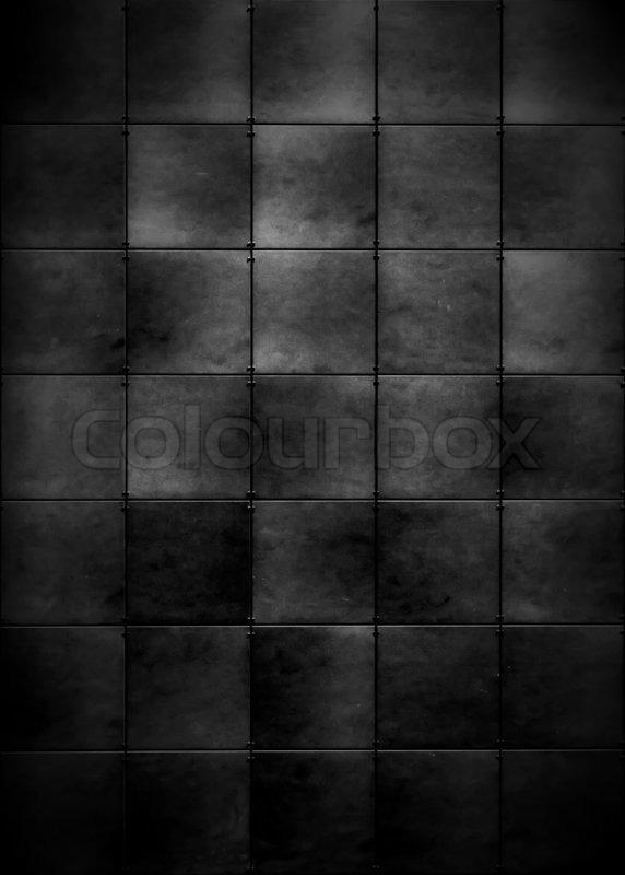Dunkle Fliesen Hintergrund Stockfoto Colourbox