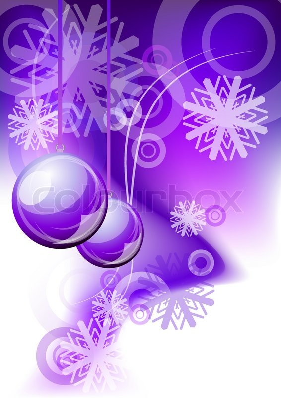 christmas abstract background in purple color stock vector colourbox
