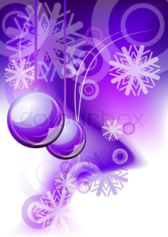 Weihnachten abstrakten hintergrund in lila farbe for Weihnachtskugeln durchsichtig