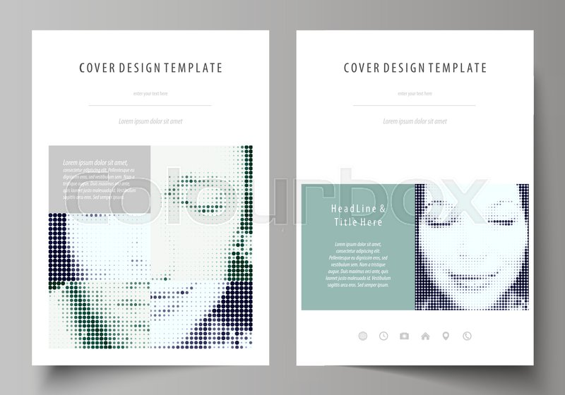 business templates for brochure  magazine  flyer  booklet or annual report  cover design