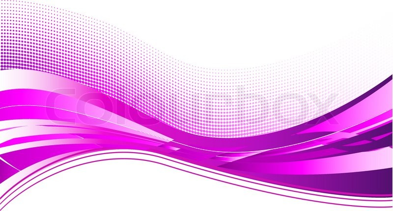 purple wave background on white | stock vector | colourbox