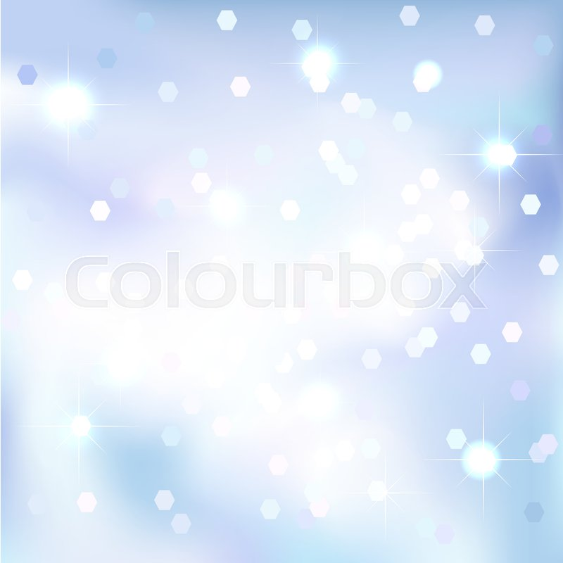 abstract background blue sky background magical new year christmas event style vector