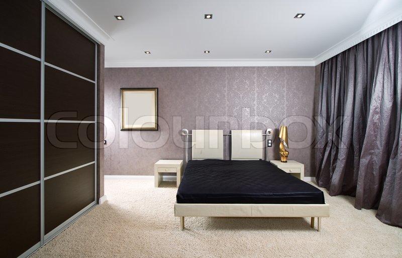 Luxus schlafzimmer stockfoto colourbox - Luxus schlafzimmer ...
