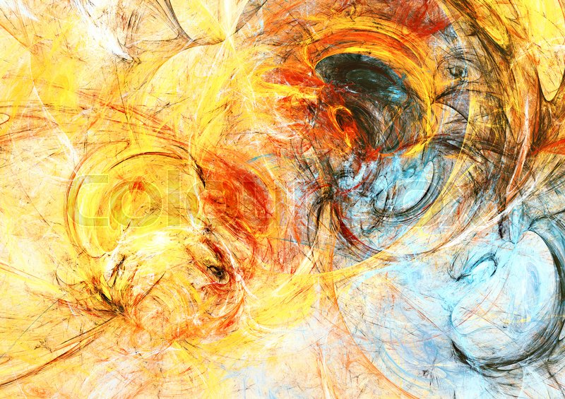 Sunlight Bright dynamic background Abstract painting texture in