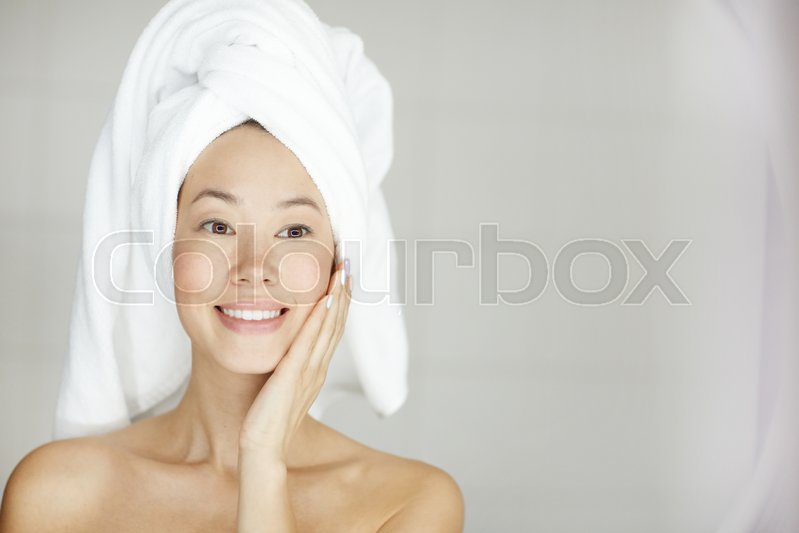 Dame, behandling, sensuel | stock foto | Colourbox