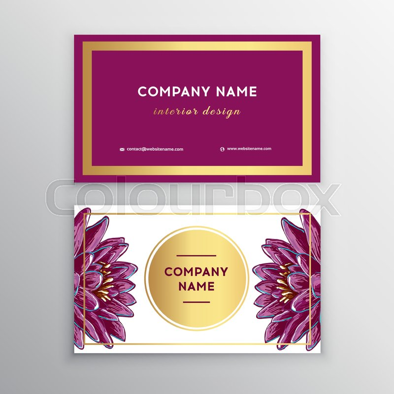 Makeup Artist Business Card Business Cards Template With Pink Lips