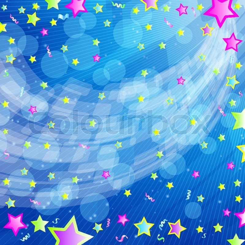 Party Backdrop Vector Party Background Vector