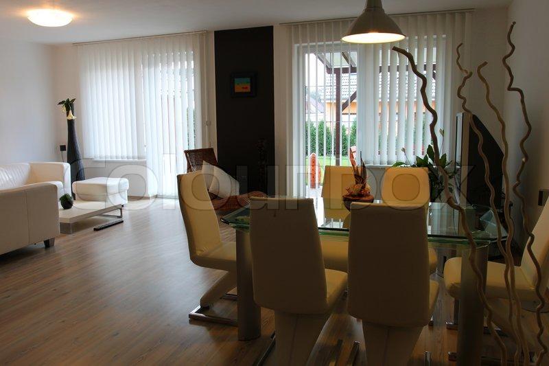 Wohnzimmer Modern Und Antik : Modern Living Dining Room