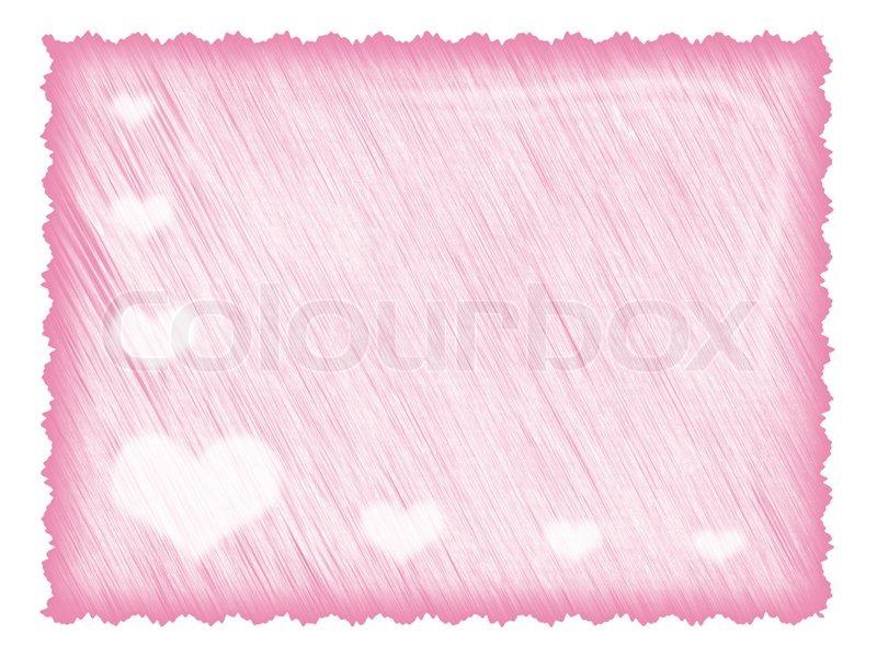 Hellrosa strukturiertes Papier für Liebesbrief oder Fotorahmen ...