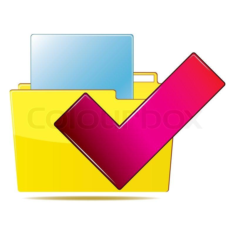 Computer Folder Icon Folder Icon Vector