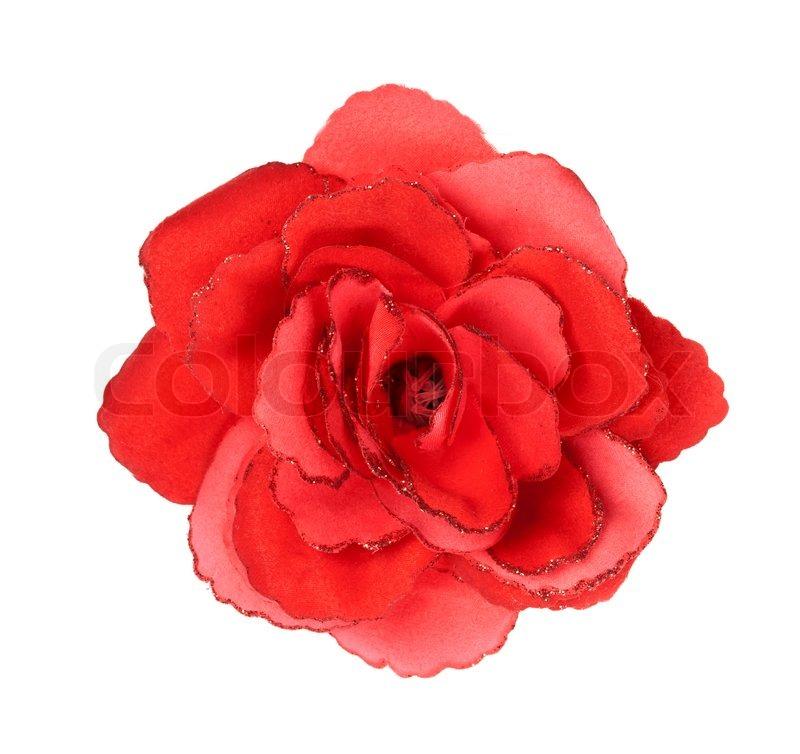 red flower white background - photo #45