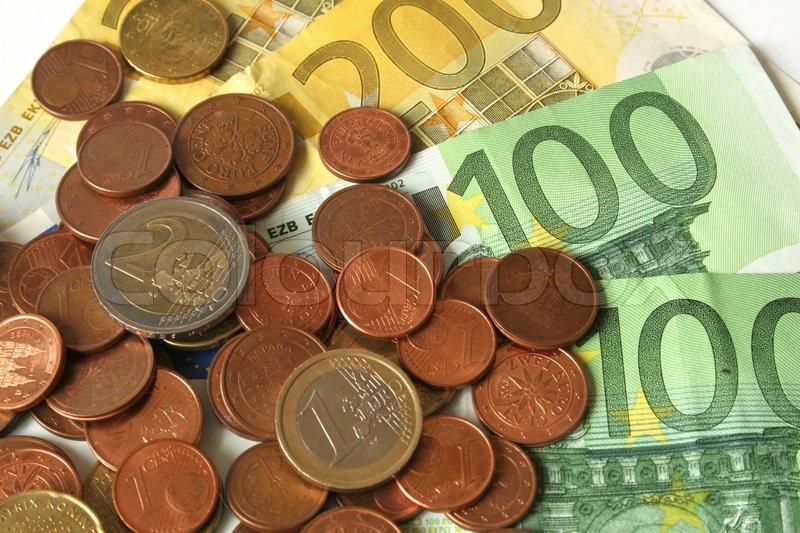 Euro penge   Stock Billede   Colourbox