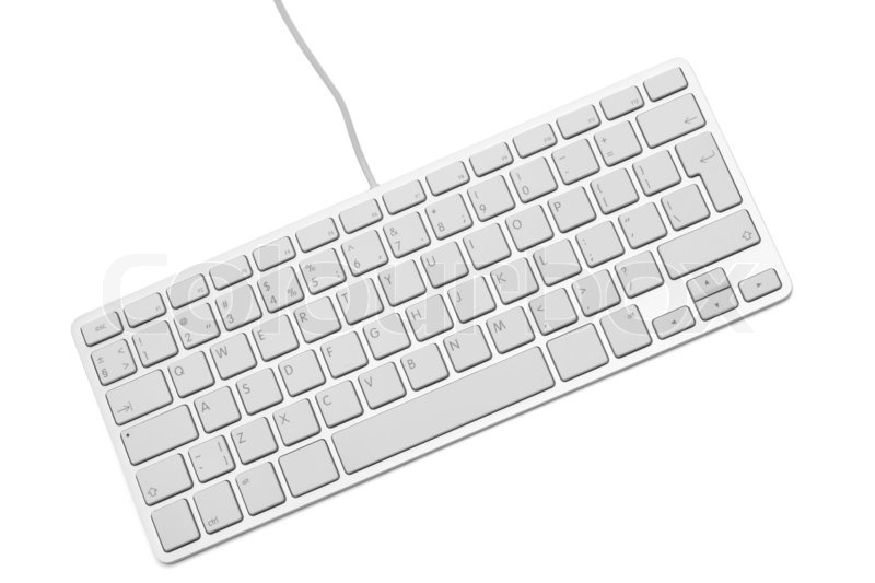 The modern and stylish keyboard for a     | Stock image