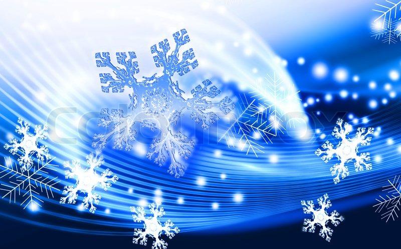 blau winter abstrakten hintergrund mit schneeflocken stockfoto colourbox. Black Bedroom Furniture Sets. Home Design Ideas